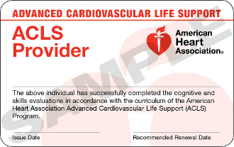 Advanced Cardiovascular Life Support Class
