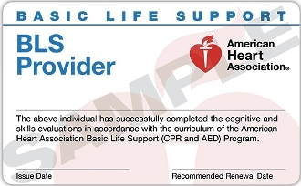 BLS for HCP  Skills Check. MUST COMPLETE ONLINE CLASS FIRST